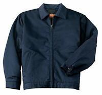 Red Kap Men's XS Long Sleeve Adjustable Waist Tabs Slash Pocket Jacket CSJT22