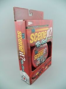 TV Scene It? To Go! THE DVD Game Travel Size 13 to Adult 2 Players NEW
