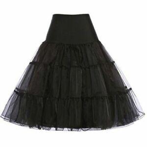 """RULTA 26"""" Retro Net Underskirt 50s Swing Petticoat Rockabilly FancyTutu Skirt K1"""