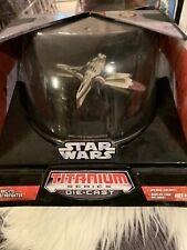 Star Wars Titanium Series Die.cast Arc-170 Starfighter 2006 New