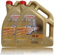 Castrol EDGE FST 5W-40 VW 2x5 502 00 / 505 00 / 505 01; BMW Longlife-04;