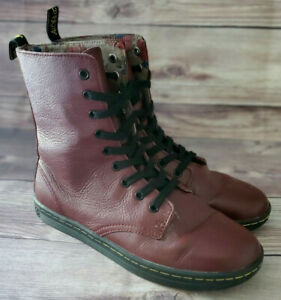 Dr. Martens Womens Sneakers Size 9 Stratford Burgundy