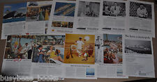1948-65 AMERICAN EXPORT LINES advertisements x11, Excalibur Constitution etc