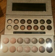 Laura Geller~The Delectables 14 Eye Shadow Palette Delicious Shades Of Nude