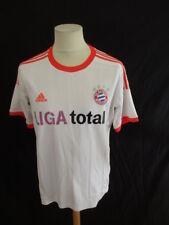 Maillot de football vintage PSG Bayern Adidas Blanc Taille M