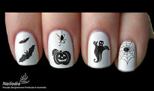 Halloween Nail Art Sticker Water Transfer Decal Tattoo