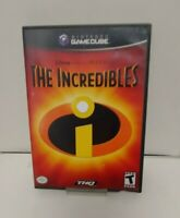 The Incrededibles (GameCube, 2004) COMPLETE THQ DISNEY PIXAR FAST SHIPPING