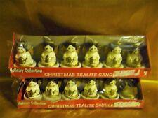 12 Holiday Collection Mini Angel Christmas Tealite Candles