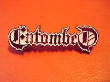 Entombed Pin Badge Death Metal At the Gates Sweden Death Metal