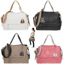 Handtasche Damen Alessandro Bari A4 Schultertasche Kunstleder Tasche 5402 Wahl