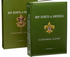 BOY SCOUTS 100 YEAR CENTENNIAL HISTORY HUGE 10 LB COLLECTOR BOOK w REPLICAS DVD