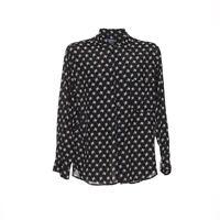 Vintage Herren Langarmhemd Größe M Freizeit Retro Shirt Viereckmuster Viskose