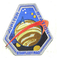 "Star Trek: Starfleet R&D JUPITER STATION 3"" Logo Patch -USA Mailed  (STPA-SFC-7)"