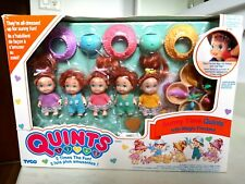 15591 Vintage Tyco Quints Sunny Time Dolls Freckles Box French English Version