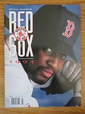 1994 RED SOX Yearbook ROGER CLEMENS ANDRE DAWSON MO VAUGHN MIKE GREENWELL VIOLA