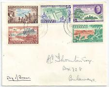 Southern Rhodesia 1953 Rhodes FDC Bulawayo