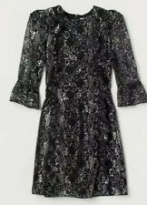 The Vampires Wife H&M Silver Lace Dress 12 40 SOLD OUT In Hand Ready To Post
