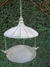 mangeoire en fer forgé a suspendre ,décoration ou utile  oiseau ,