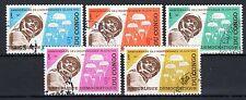 Congo (Zaïre) - 1965 5 years independence  - Mi. 235-39 FU
