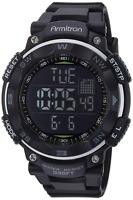 Armitron Sport Mens 40/8254 Digital Chronograph Resin Strap Watch Black
