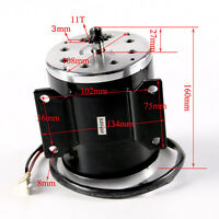 36V 800W Electric Scooter Motor Brushed EV Bike Bicycle E-Bike fits 25H Chai
