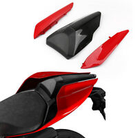 Red Single-seater Cover Set Trim Fairing Seat Cowl Fit Ducati 959 1299 Panigale*