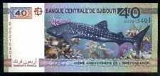DJIBOUTI  40  FRANCS  2017 Prefix DJ  P NEW  COMMEMORATIVE Uncirculated