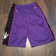 Toronto Raptors NBA Reebok Basketball Shorts Youth Size (18-20) XL