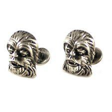 Star Wars Chewbacca Cufflinks Burnished Silver Chewbacca Cufflinks 0580