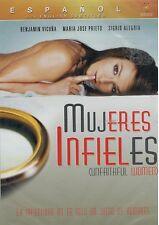 Mujeres Infieles Unfaithful Women (DVD, 2006, New, Espanol w/ English Subtitles)