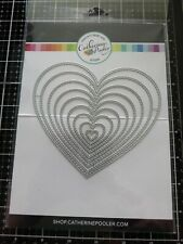 Catherine Pooler Nested Stitched Hearts Dies