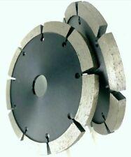 "8 Piece 5"" Tuck Point Diamond Blade 250 Inch Segment Width Concrete stone chaser"