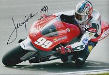 Jeremy McWILLIAMS SIGNED Isle Of Man TT PROTON 12x8 Photo AFTAL COA Autograph