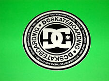 DC SHOES WAKEBOARD SKATEBOARD BMX FREESTYLE ATV MOTOCROSS BLACK STICKERS DECALS