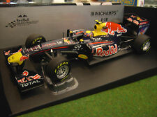 F1 RED BULL RACING RENAULT RB7 M. WEBBER 2011 AU 1/18 MINICHAMPS 110110002