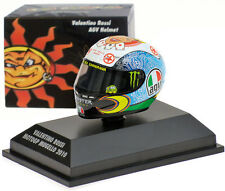 Minichamps Valentino Rossi Helmet - MotoGP Mugello 2010 1/8 Scale