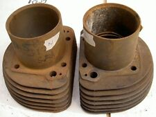 1956-59 AJS Matchless G11 600cc 7 fin pair cylinders N