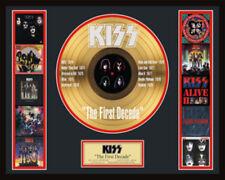 """KISS - THE FIRST DECADE 12"""" LP GOLDENE SCHALLPLATTE #18"""
