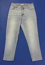 Blumarine jeans vintage donna w28 tg 42 mom hot vita sigarette usato blu T2088