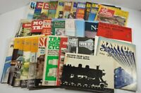 Lot Of 34 Assorted Model Railroad Magazines