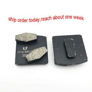 Metal Scraper Diamond Grinding Segment Husqvarna Grinder Grit 30 soft Bond