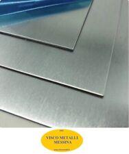 Lastra Lamiera Lamina Acciaio Inox Aisi 304 Satinato mm 1,5x500x500 c/pelabile