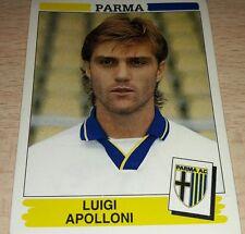 FIGURINA CALCIATORI PANINI 1994/95 PARMA APOLLONI ALBUM 1995
