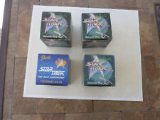 New (3) 1991 Presents Star Trek & (1)1992 Star Trek Next Generation Ceramic Mugs