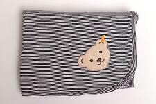 Jerseydecke Babydecke Decke Kuscheldecke Steiff Bär marine 90 x 60 cm