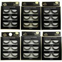 3 Pairs 3d Mink False Eyelashes Extension Natural Fluffy Wispy Thick Long Cilios