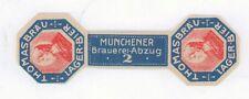 Brauerei Thomasbräu altes Bier Etikett aus München