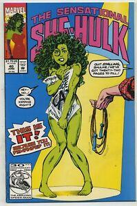 Sensational She-Hulk 40 Jump Rope Cover High Grade