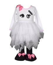 BONNIE JEAN® Toddler Girl 4T Mummy Halloween Top & Legging Set NWT $55