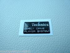 Technics turntable lid badge.
